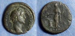 Ancient Coins - Roman Empire, Antoninus Pius 138-161, Aes