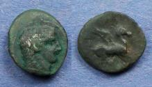 Ancient Coins - Sicily, Kephaloedium 400-300 BC, AE13