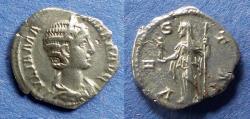 Ancient Coins - Roman Empire, Julia Mamaea 222-235, Denarius