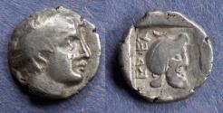 Ancient Coins - Mysia, Pergamon Circa 400 BC, Diobol