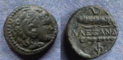 Ancient Coins - Macedonian Kingdom, Alexander III Struck circa 310 BC, AE17