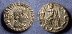 Ancient Coins - Indo-Scythian, Hermaios of Bactria Imitation Circa 20 BC, Drachm