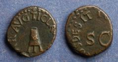 Ancient Coins - Roman Empire, Claudius 41-54 BC, Quadrans