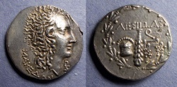 Ancient Coins - Macedonia, Aesillas 95-65 BC, Tetradrachm
