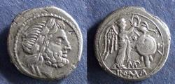 "Ancient Coins - Roman Republic, ""MP"" Series 211-208 BC, Victoriatus"