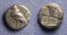 Ancient Coins - Troas, Abydos 500-480 BC, Diobol
