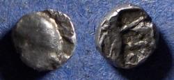 Ancient Coins - Samaria,  Circa 375-333 BC, Silver Obol