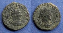 Ancient Coins - Roman Empire, Aurelian with Vabalathus 270-2, Antoninianus