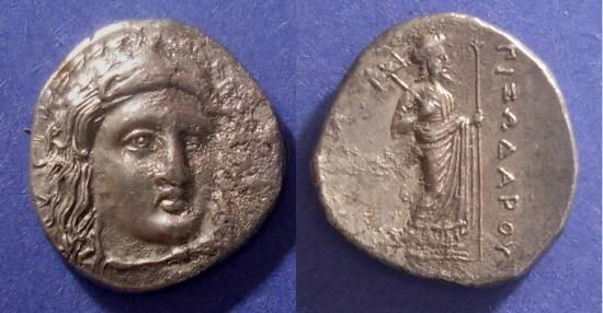 Ancient Coins - Caria, Pixodaros 340-334 BC, Didrachm