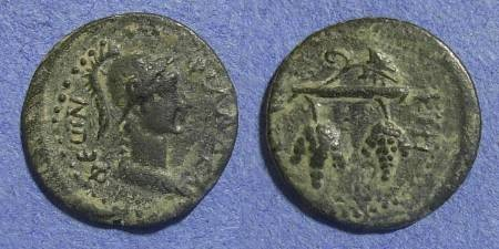 Ancient Coins - Cilicia, Philadelphia 2nd Cent AD, AE17