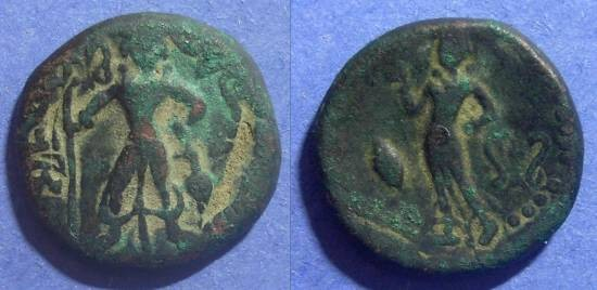 Ancient Coins - India, Yeudheya Circa 300 AD, AE25