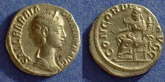 Ancient Coins - Orbiana (Wife of S. Alexander 225AD)