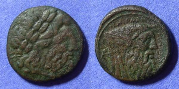 Ancient Coins - Akarnania – The Oiniadai AE20 Circa 219-211BC