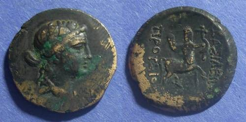Ancient Coins - Bithynian Kingdom, Prusias II 185-149 BC, AE23