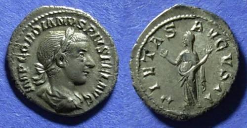 Ancient Coins - Roman Empire, Gordian III 238-244 AD, Denarius