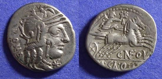 Ancient Coins - Roman Republic - Denrarius 117-6 BC - Fulvia 1