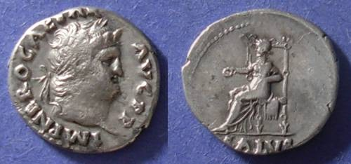 Ancient Coins - Roman Empire, Nero 54-68 AD, Denarius