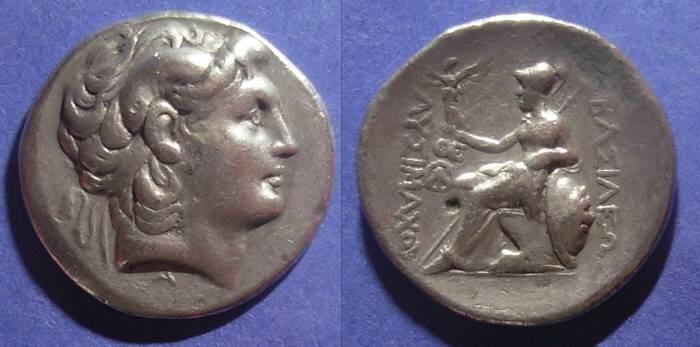Ancient Coins - Kingdom of Thrace, Lysimachos 323-281, Tetradrachm