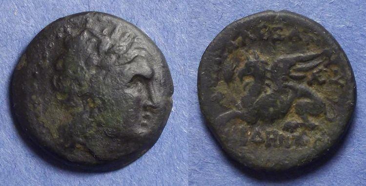 Ancient Coins - Abdera, Thrace Circa 250 BC, AE21