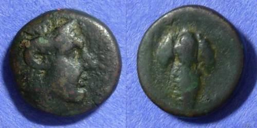 Ancient Coins - Cyclades – Tenos AE17– Circa 300-200 BC