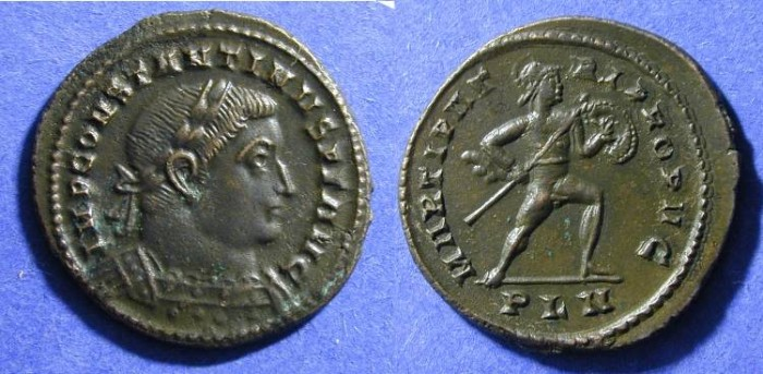 Ancient Coins - Constantine (as Augustus) 307-337 Follis of London