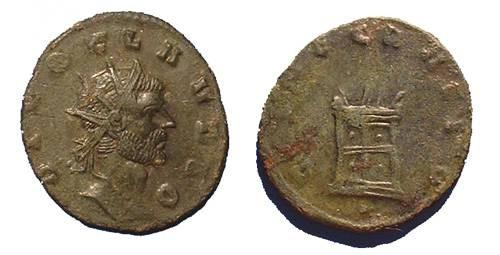 Ancient Coins - Claudius II Gothicus 268-270AD Commemorative  Antoninianus
