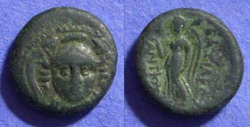 Ancient Coins - Seleucid Kingdom - Antiochos I 280-261BC AE14