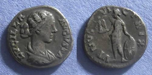 Ancient Coins - Roman Empire, Lucilla (Wife of Verus) 164-9, Denarius