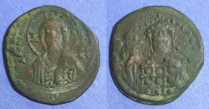 Ancient Coins - Byzantine Empire, Constantine X 1059--67, Follis