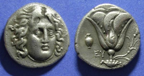 Ancient Coins - Rhodes,  305-275 BC, Didrachm