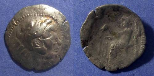 Ancient Coins - Danube Celts, Imitating Alex III or Philip IIII Circa 250 BC, Drachm