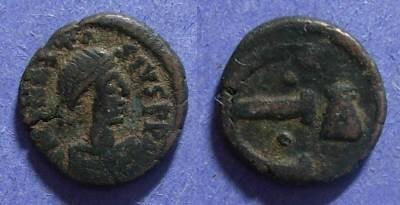 Ancient Coins - Byzantine Empire, Anastasius I 491-518, Pentanummium