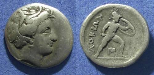 Ancient Coins - Lokris,  Circa 300 BC, Triobol