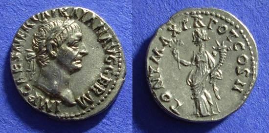 Ancient Coins - Trajan 98-117 Denarius