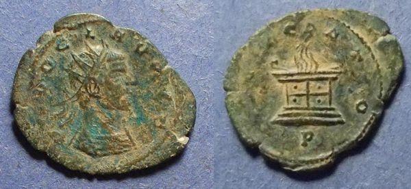 Ancient Coins - Roman Empire, Divo Claudius II Gothicus d. 270, Antoninianus