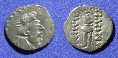 Ancient Coins - Kushan - Heraios (Kujula Kadphises) Obol Circa 30 AD