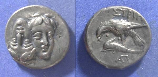 Ancient Coins - Istros, Thrace Circa 400 BC, Stater