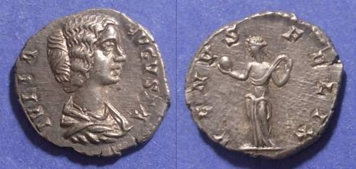 Ancient Coins - Roman Empire, Julia Domna 193-217, Denarius