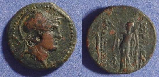 Ancient Coins - Seleucid Kingdom Alexander Balas 150-145BC AE19