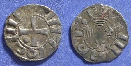 World Coins - Crusader Antioch, Bohemond III 1149-63, Denier