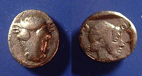 Ancient Coins - Phokis Hemidrachm 460-430 BC