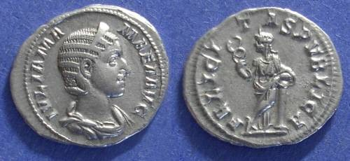 Ancient Coins - Roman Empire, Julia Mamaea 222-235, Denarius