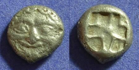 Ancient Coins - Parion Mysia Circa 480 BC Hemidrachm