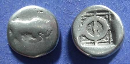 Ancient Coins - Phlious, Phliasia 430-420 BC, Hemidrachm