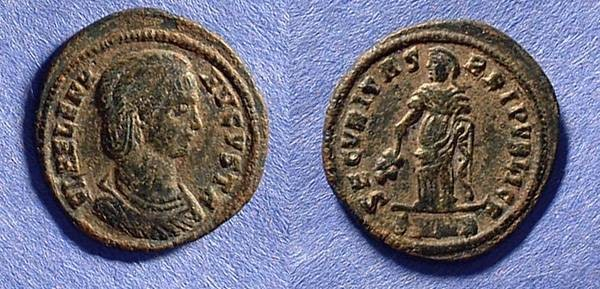 Ancient Coins - Helen - Mother of Constantine - D. 328 AE3