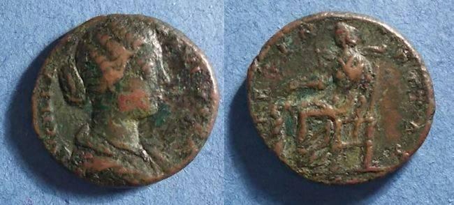 Ancient Coins - Roman Empire, Lucilla 164-9, As