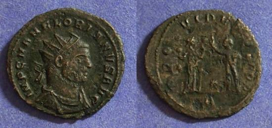 Ancient Coins - Florian June to September 276AD - Antoninianus