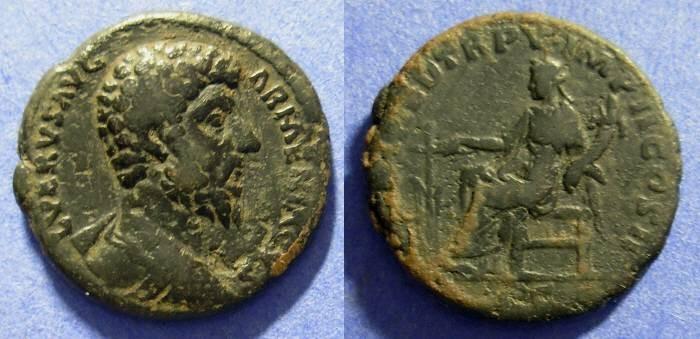 Ancient Coins - Lucius Verus 161-169AD  Aes