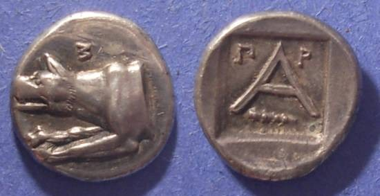 Ancient Coins - Argos,  320-270 BC, Hemidrachm