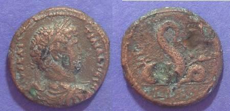 Ancient Coins - Roman Egypt, Hadrian 117-138, Obol